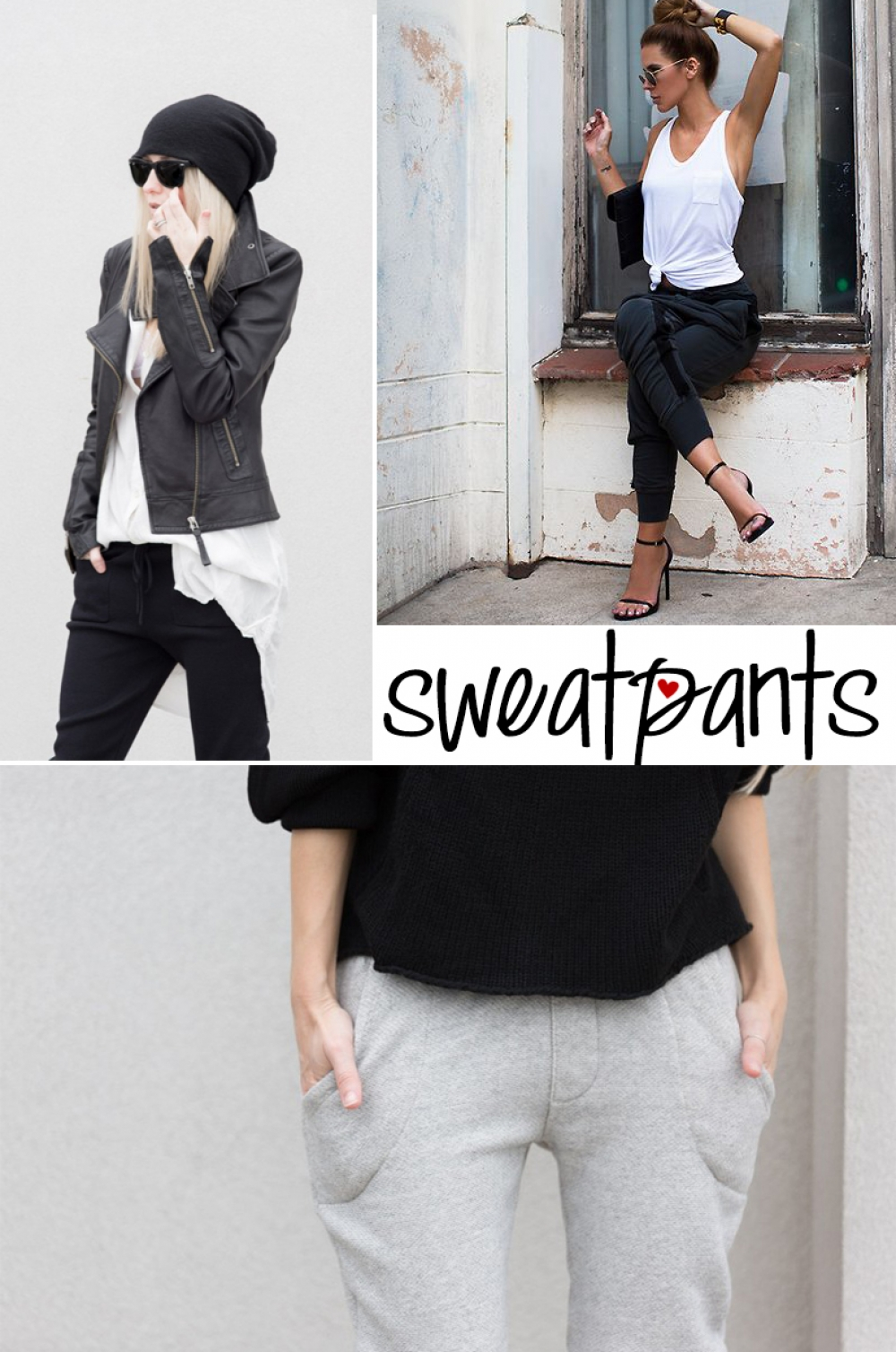 Inspiration: sweatpants