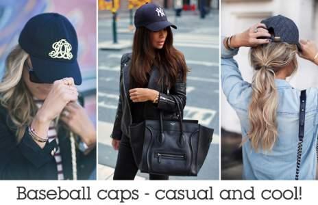 The baseball cap! / Шапката с козирка!