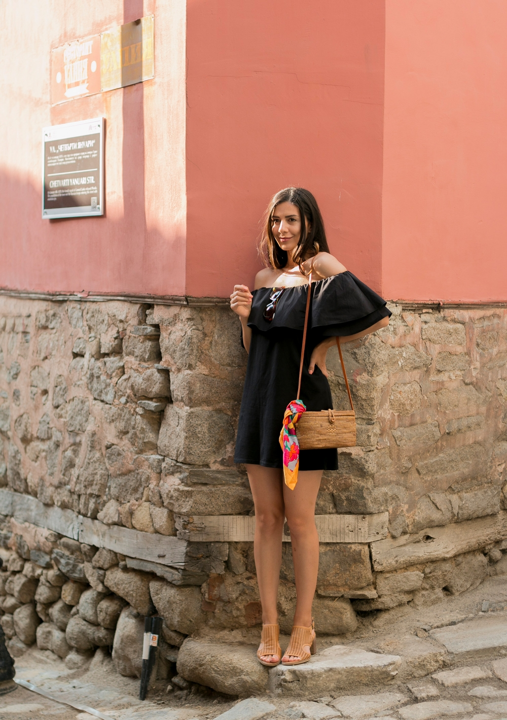 Little black summer dress